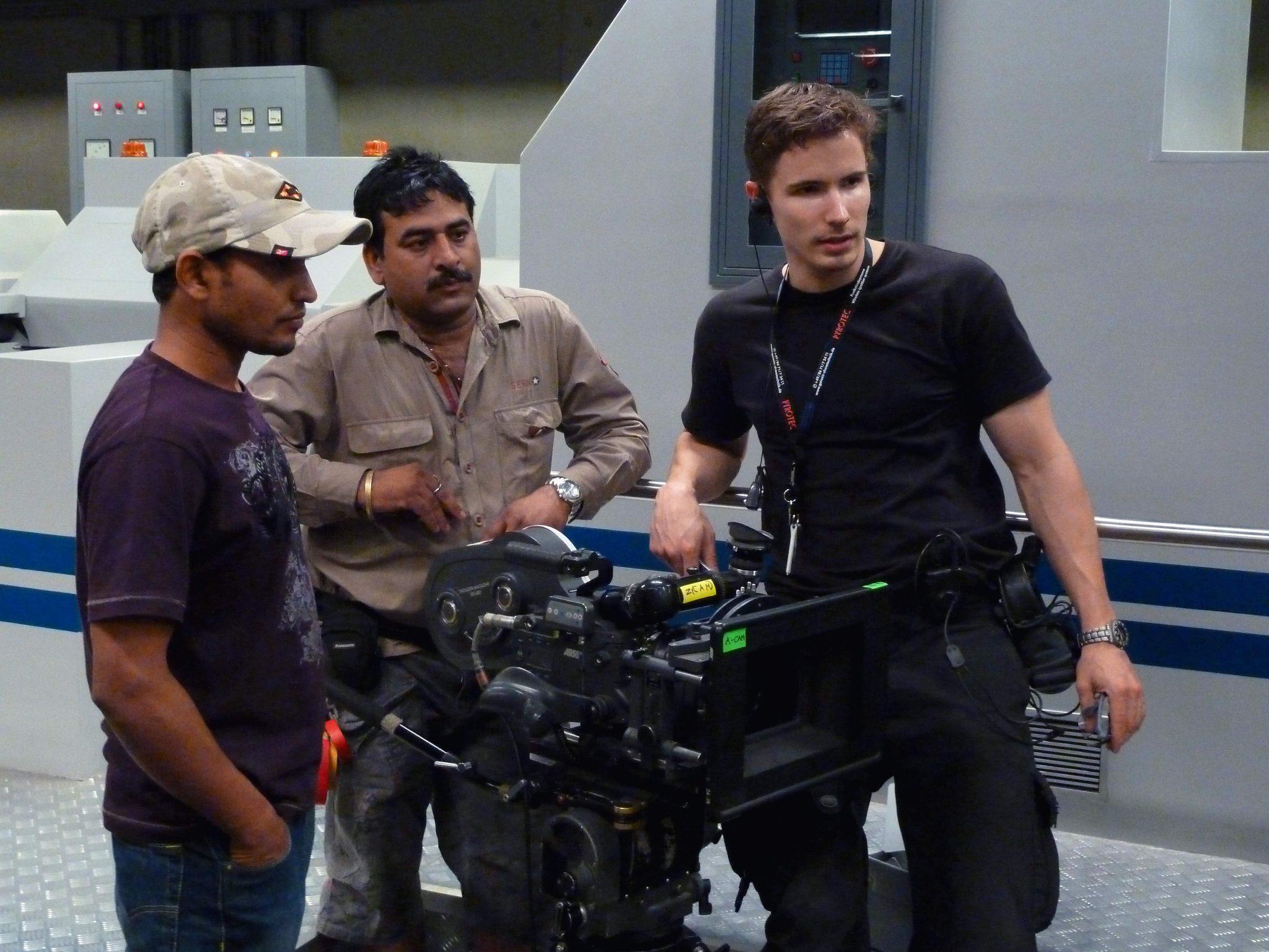 Martin Goeres, MG-Action, Stunt Koordinator, Don 2, Sharukan, Movie, Set, Action, Stunt
