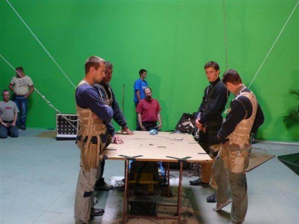 Martin Goeres, Valkyrie, Wire Work, Wire assited Stunts, Seil unterstütze Stunts,