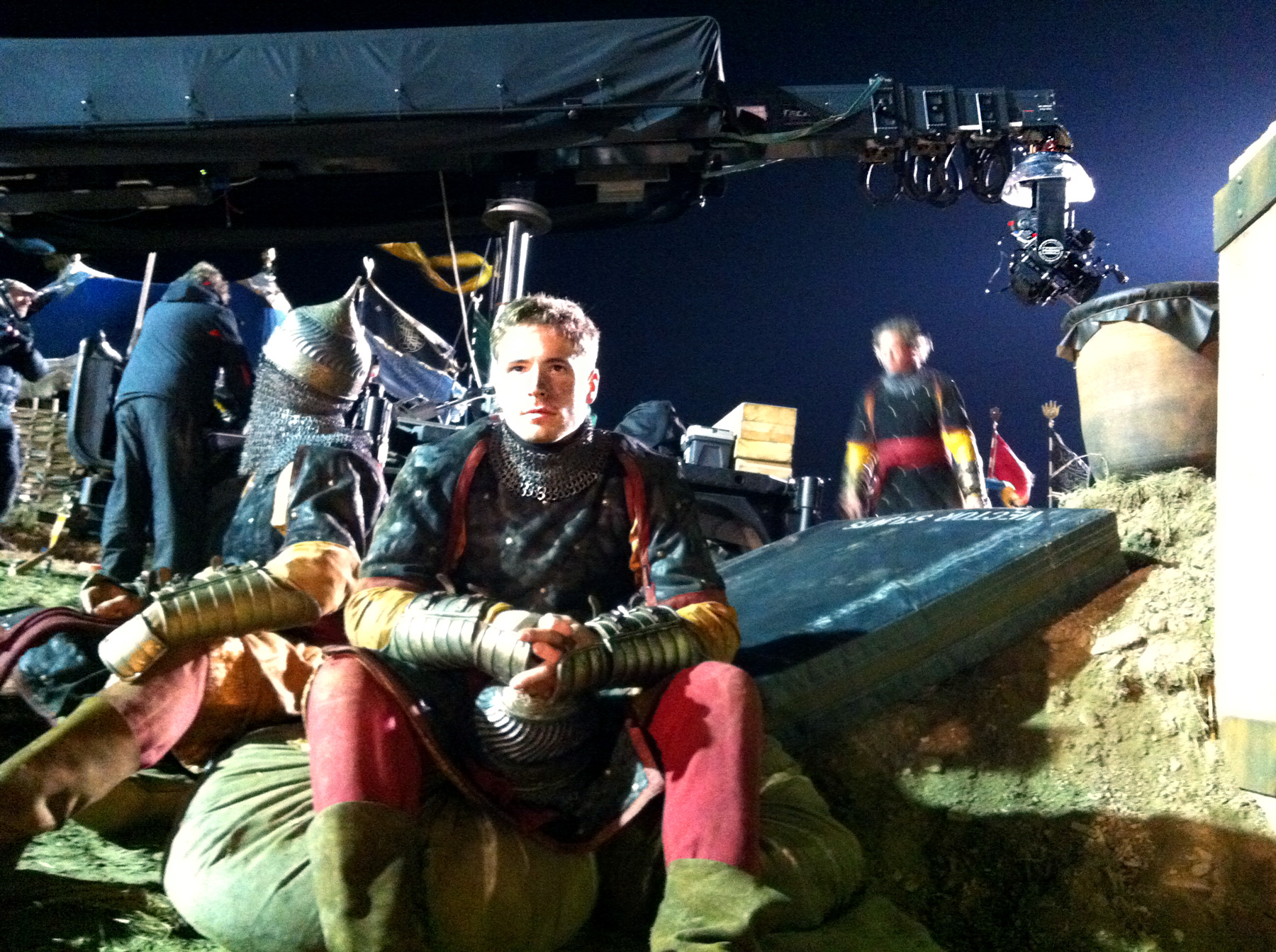 MG Action, Martin Goeres, Dracula Untold, to serve the story