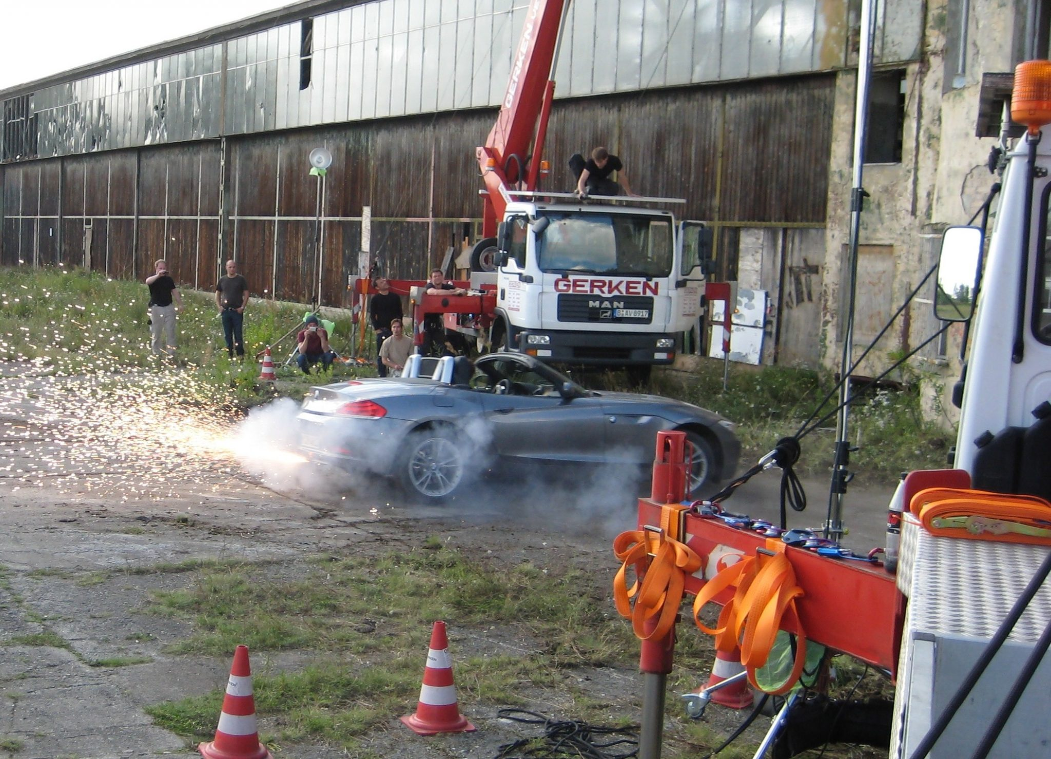 Martin Goeres, Stuntdriving, drifting, j-turn