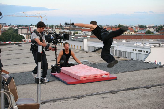 Martin Goeres, Stunt, MG-Action, Movie