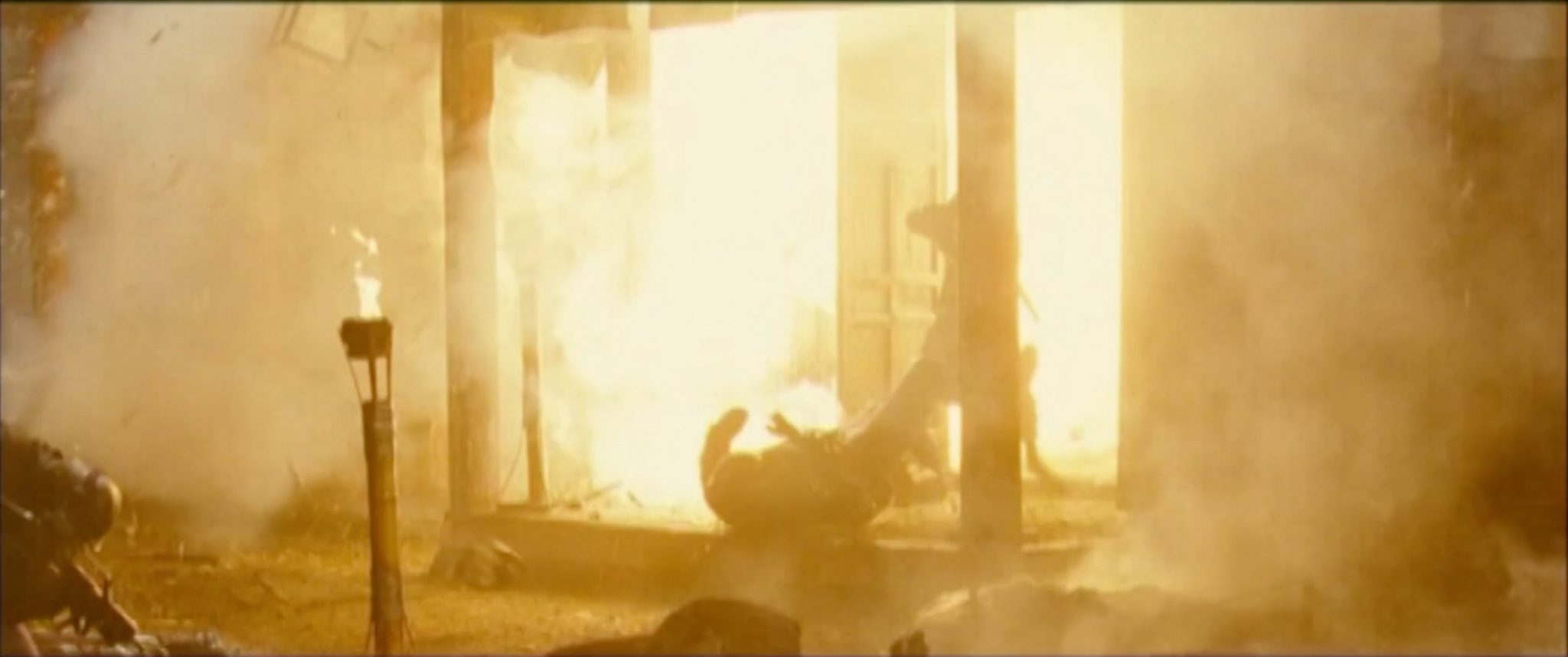 MG Action, Martin Goeres, Ninja Assassin, Stunt, Explosion, Fire, Movie