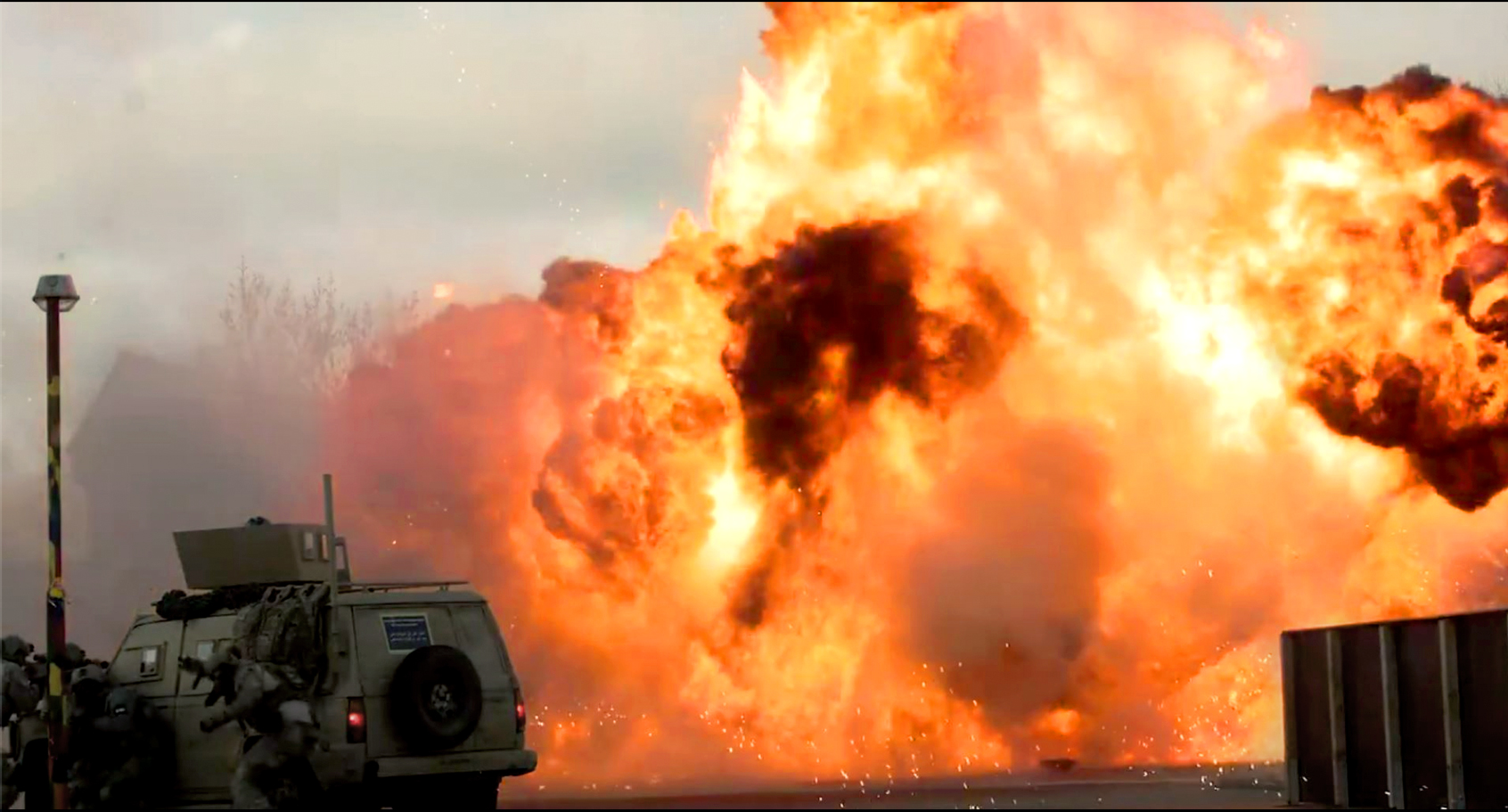 MG-Action, Martin Goeres, Special Forces, Explosion