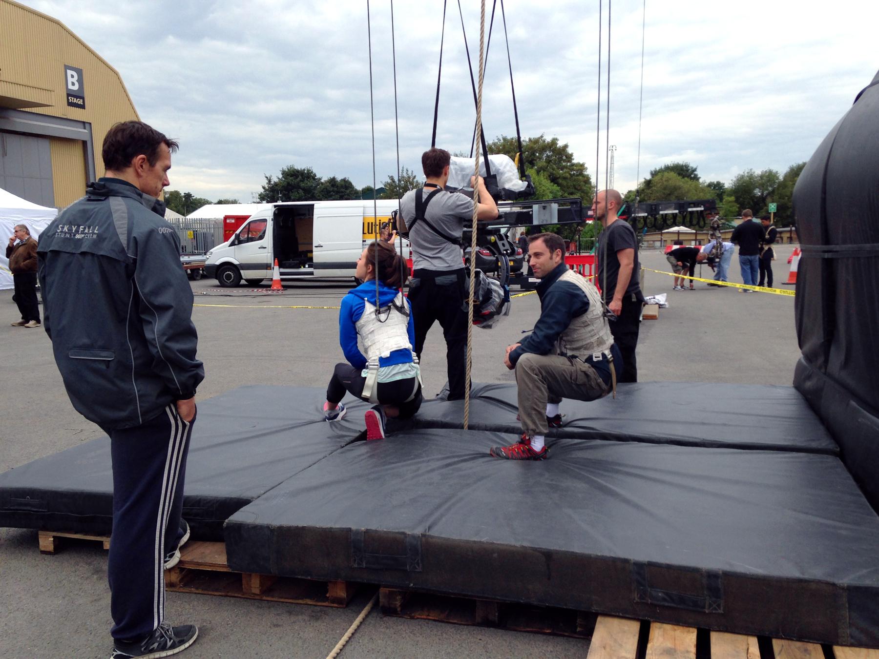 MG-Action, Martin Goeres, Stunt, Rigging, Utility Stunt, London