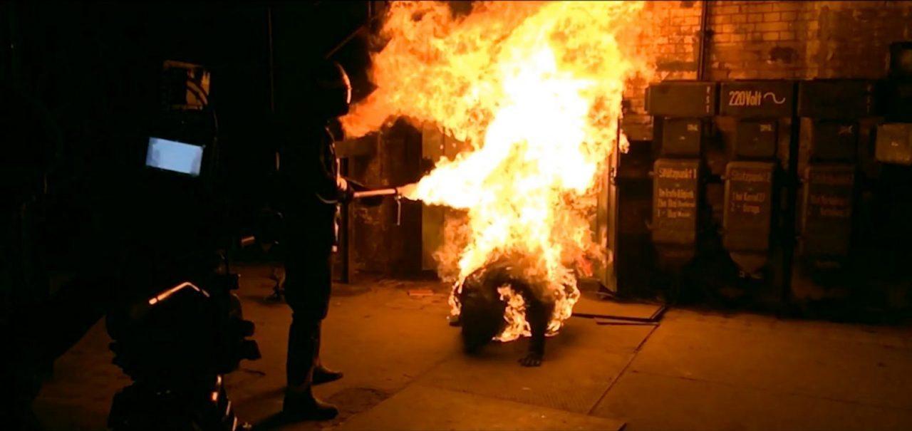MG, Action, Stuntperforming, Flamethrower