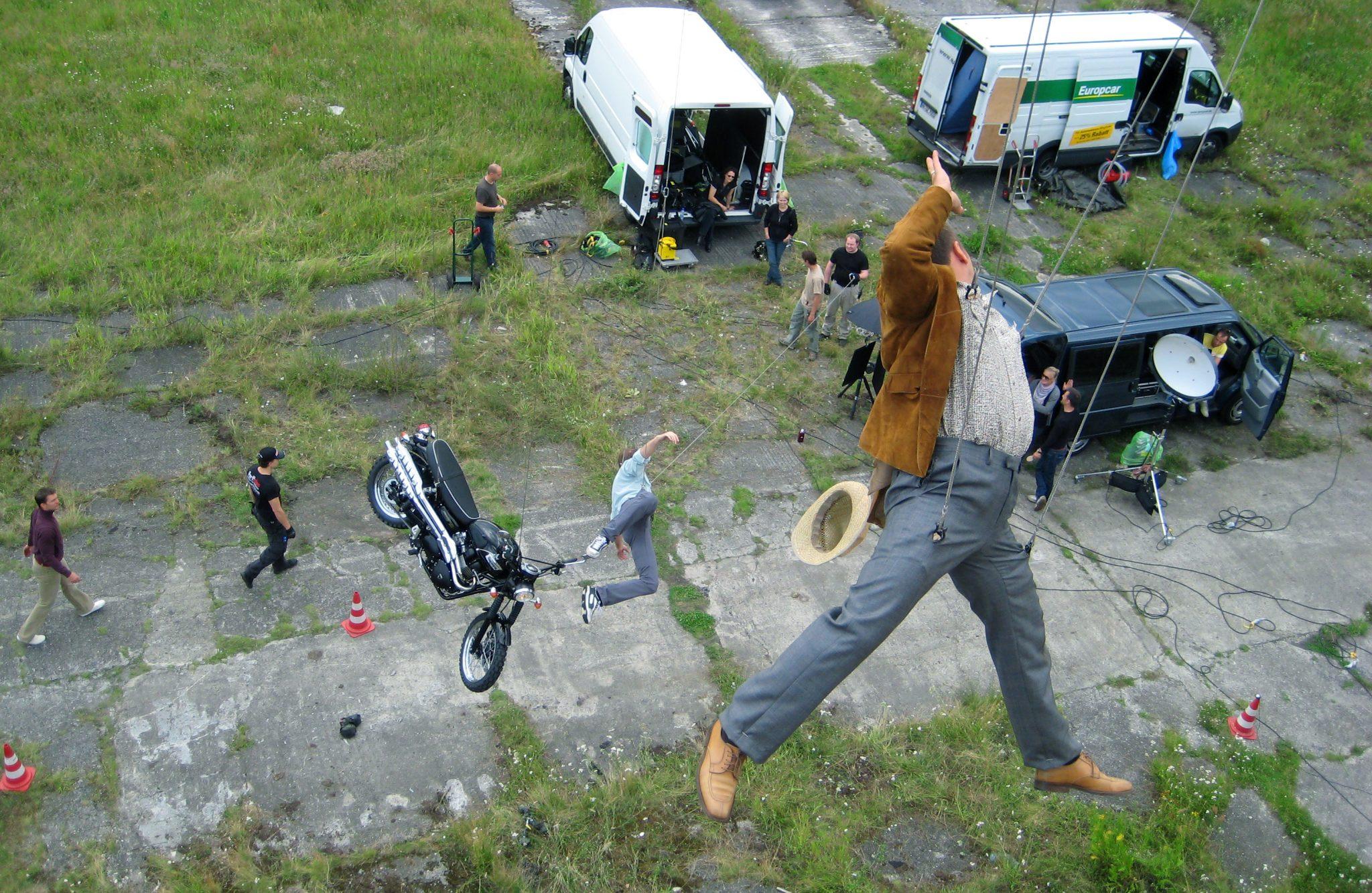 MG Action, Martin Goeres, Stunt koordination, Stunt Rigging, Alarm Für Cobra 11, Fotoshooting