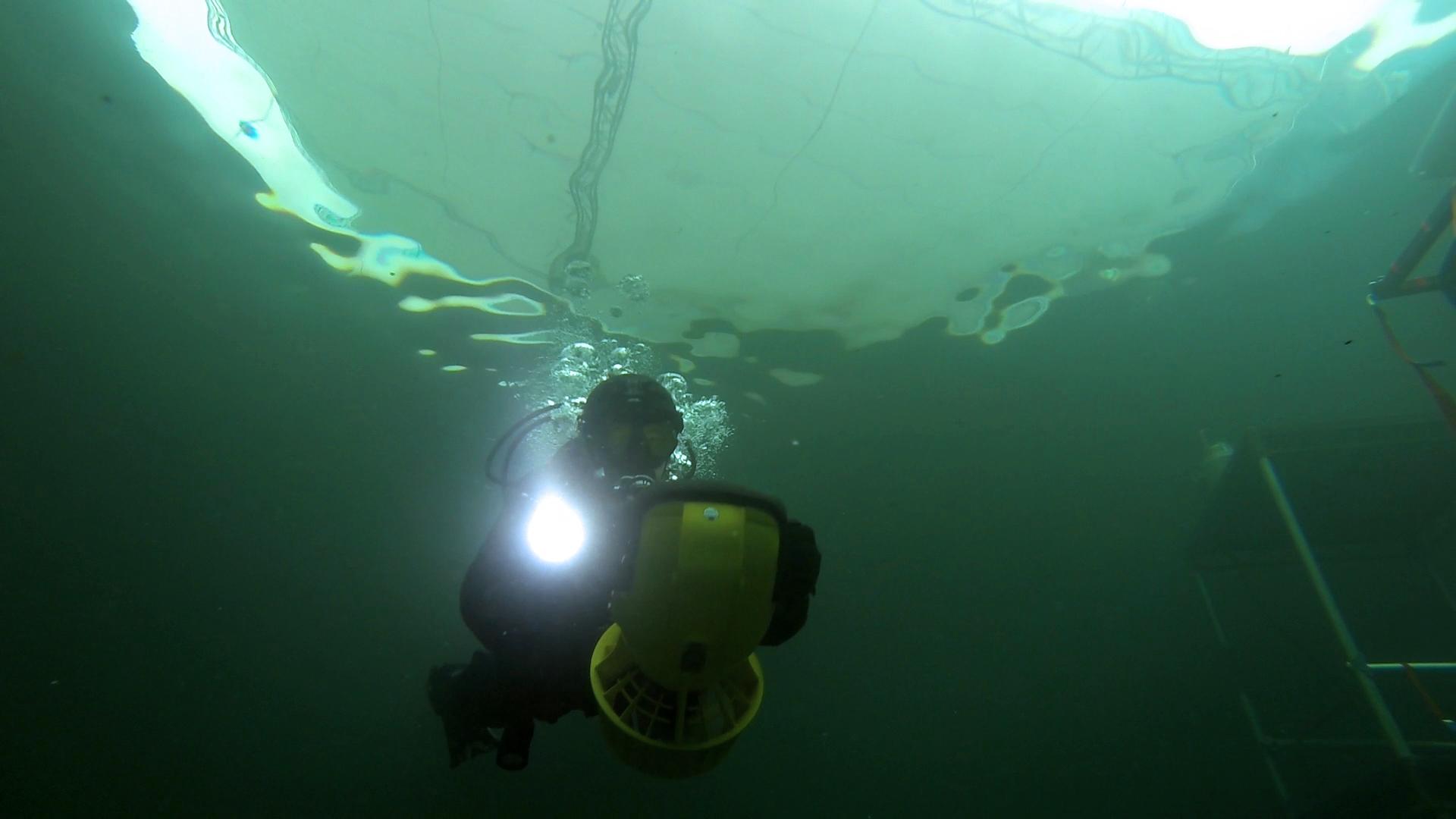 MG Action, Martin Goeres, Performing, Tauchen, Diving