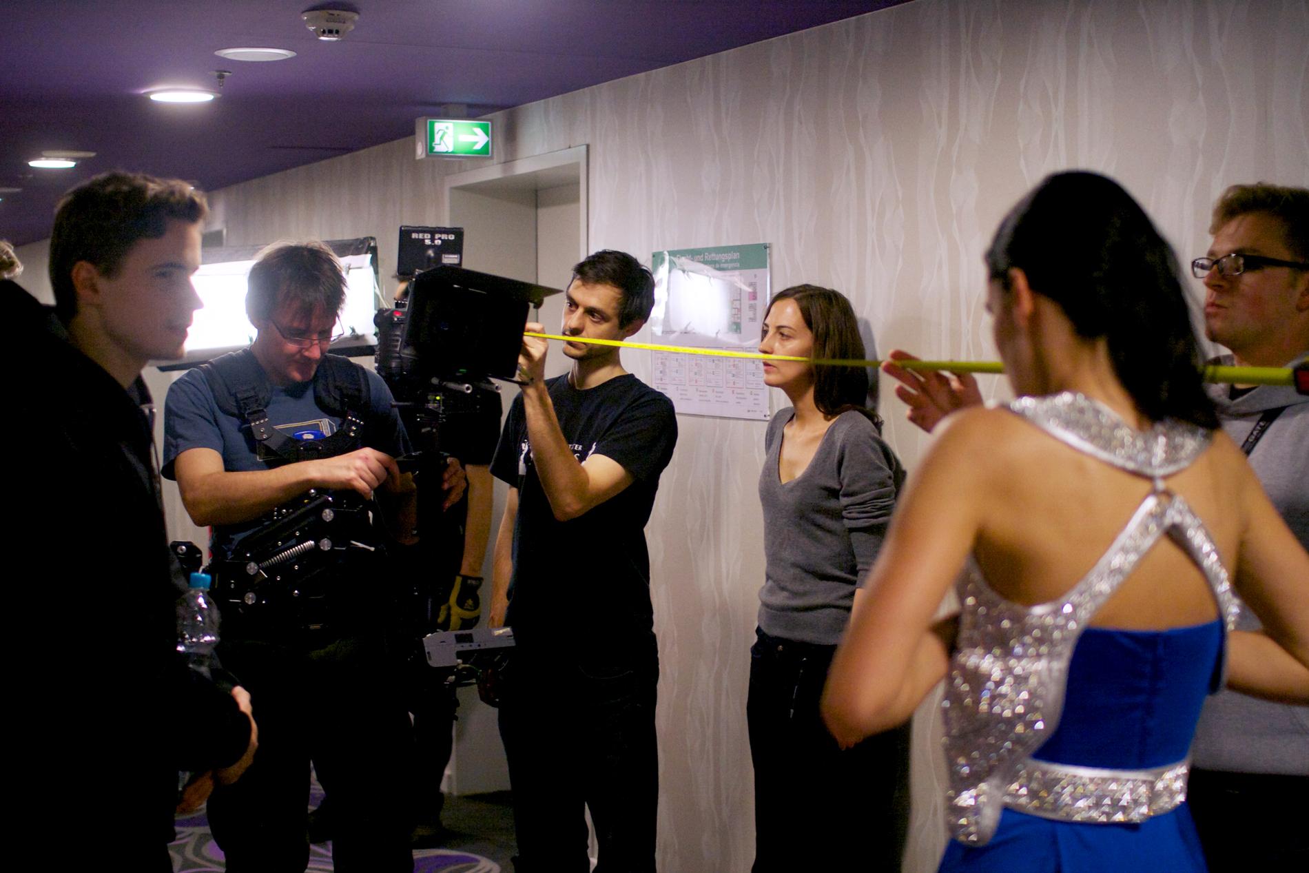Martin Goeres, Directing on Set of Chronophobia