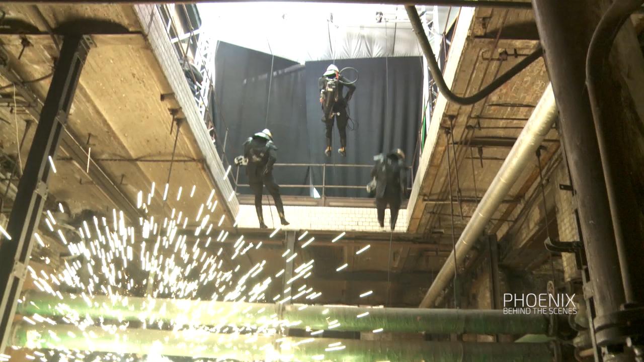 MG Action, Martin Goeres, Phönix Rappeling, SFX