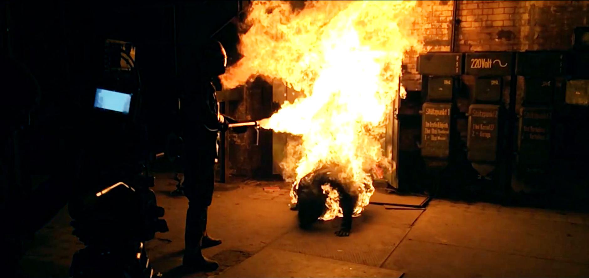 MG Action, Martin Goeres, Phoenix, Flamethrower