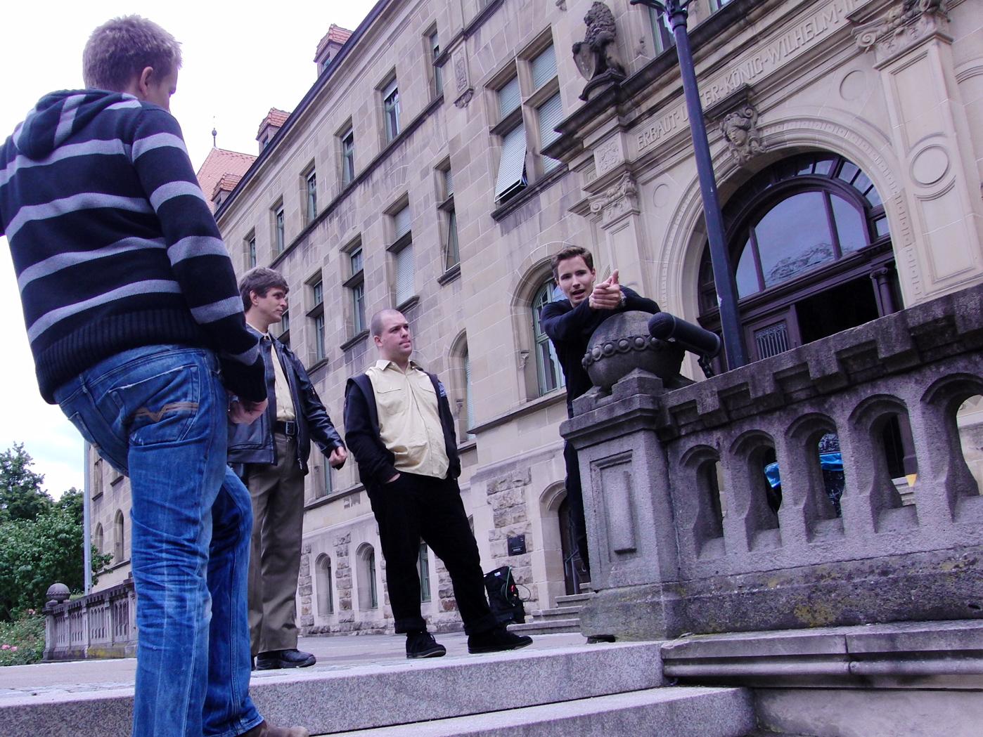 MG Action, Martin Goeres, Stuntkoordinator