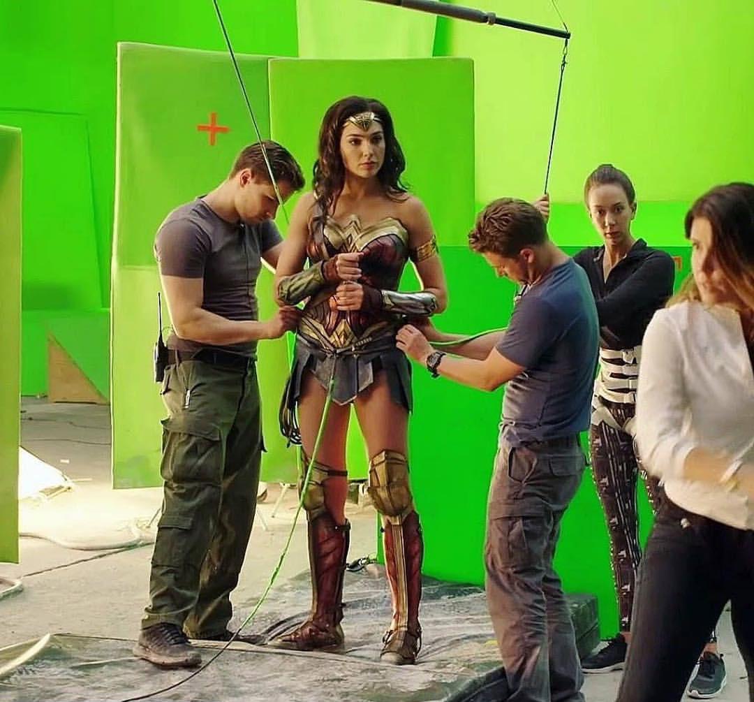 MG Action, Martin Goeres, Wonder Woman, Stunt Rigging, Wirework, Stunt Deutschland, Berlin