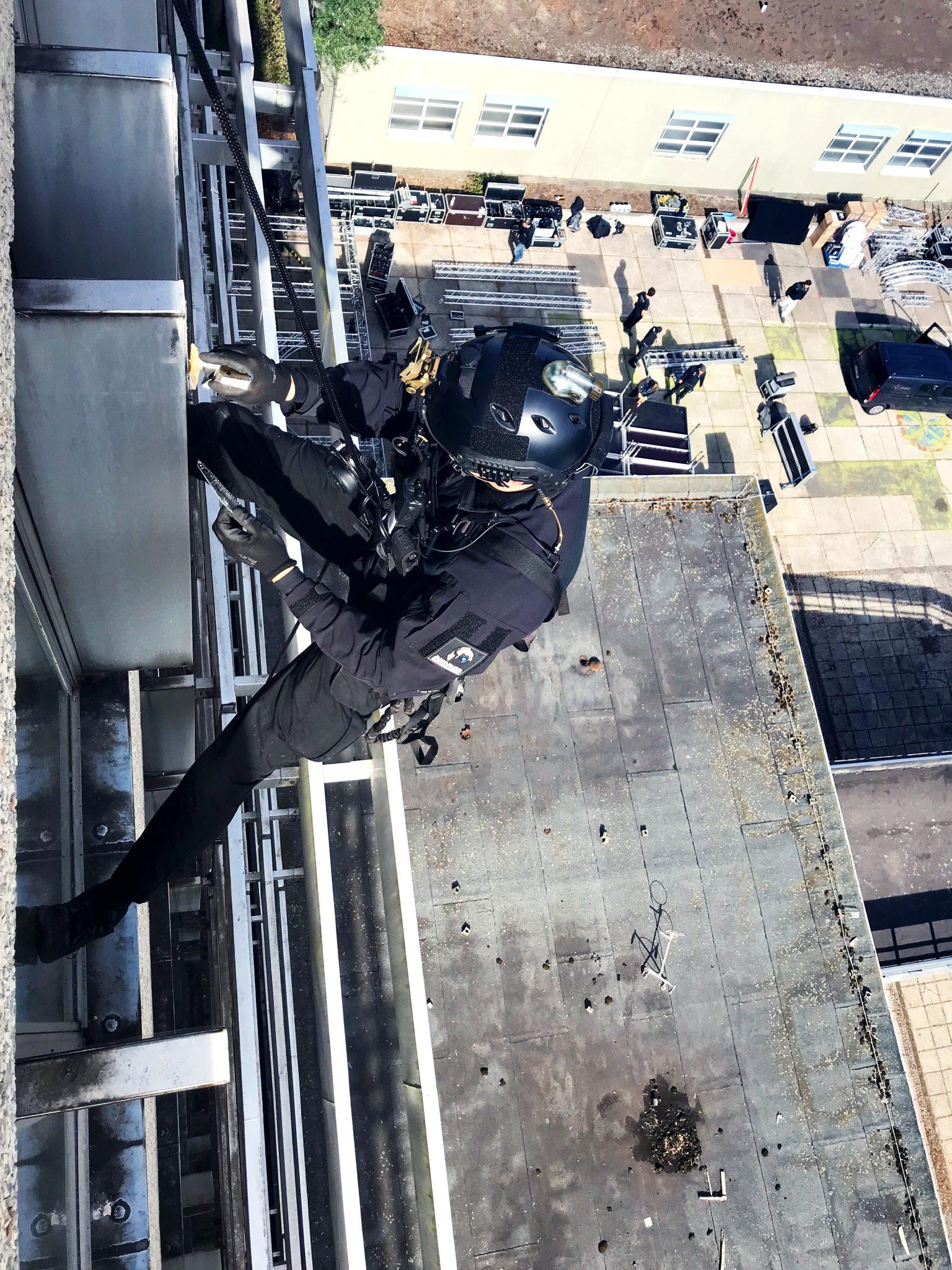 MG ACTION, Stunt Rigging, Abseilen, Stunt Deutschland, Stuntteam