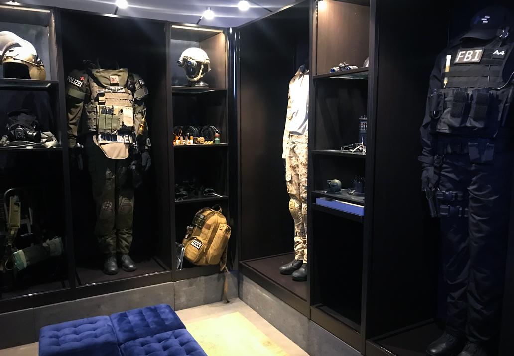 MG FORCES, Spezial Kommando für Film, Filmcops,