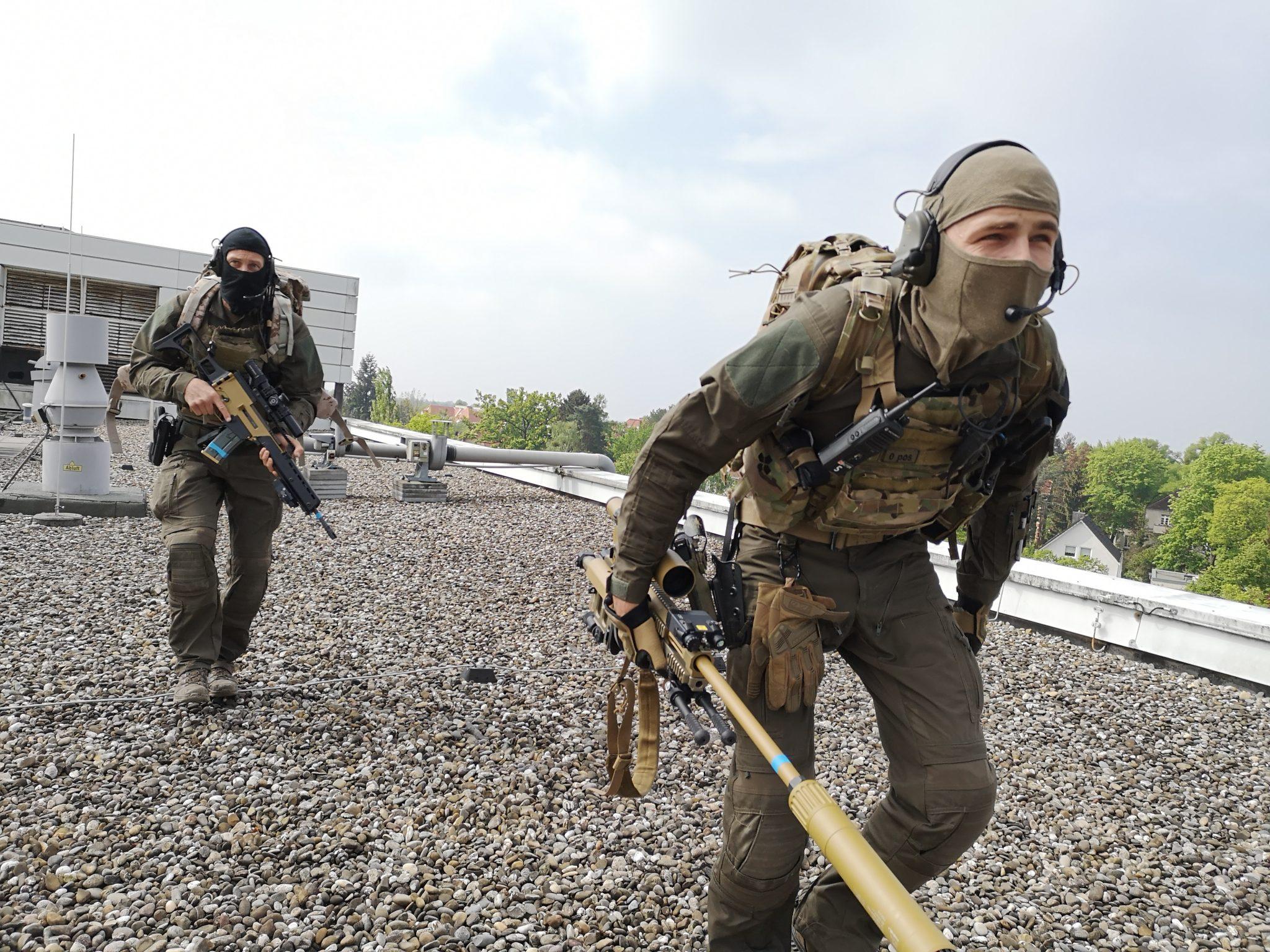 MG Action, MG Forces, Special Forces für Film, SEK Film, GSG9 Film, Polizei Film, Scharfschütze, Sniperpost,Haenel RS9