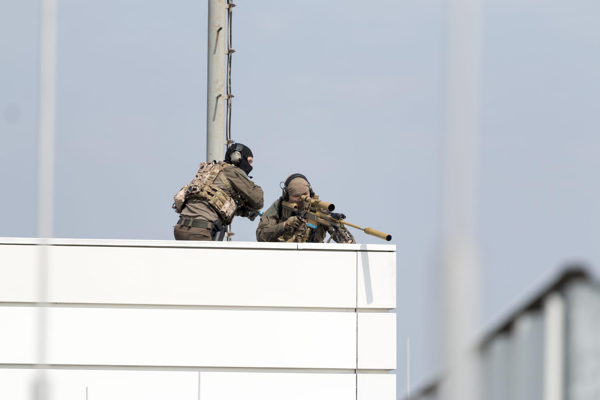 MG Action, MG Forces, Special Forces für Film, SEK Film, GSG9 Film, Polizei Film, Scharfschütze, Sniperpost, Haenel RS9